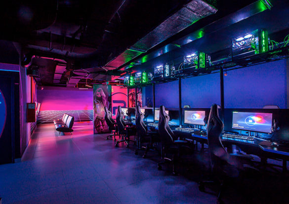 дизайн кибер клуба